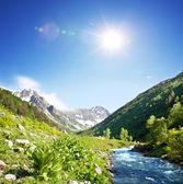 Mountain creek — Stok fotoğraf