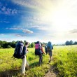 Summer hike - Foto Stock