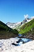 Torrente in montagna — Foto Stock