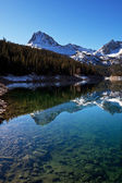 Mountains lake — Stock Photo