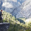 Hike in Yosemite - Stockfoto