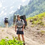 Summer hike — Stock Photo