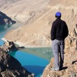 Stock Photo: Lake in Tibet