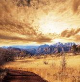Herbst in den bergen — Stockfoto