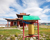 Temple in Mongolia — Foto Stock