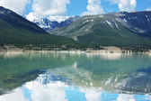 Mountains lake Hubsugul — Stock Photo