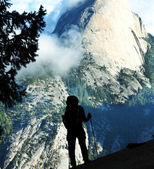 Hike in Yosemite — 图库照片