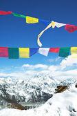 珠穆朗玛峰 — 图库照片