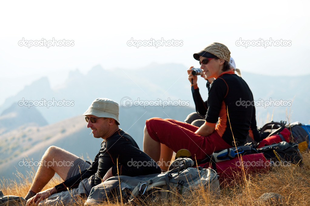 In mountains — Stock Photo #3878413