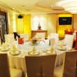 Stock Photo: Chinese luxury restaurant banquet