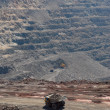 Stock Photo: Panorama of an open-cast mine