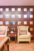 Chinese style private office — Stock Photo
