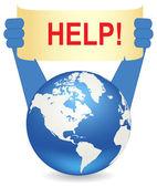 Help! — Stock Vector