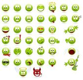 Smilies — Stock Vector