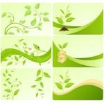 Постер, плакат: Eco cards