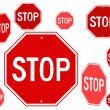 Stop symbol - Image vectorielle