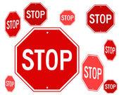 Stop symbol — Stock Vector