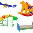 Children's toys - Stock Vector