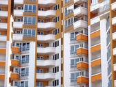 Modern apartment skyscraper house — Stock Photo