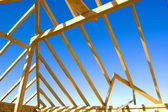 Roof construction. — Stock Photo