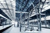 Railway station. — Stock Photo