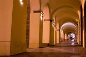 Old streets of Prague at night. — Stock Photo