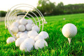 Golf game. — Stockfoto