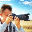 Photographer. - Foto de Stock