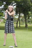 Golfer — Stock Photo