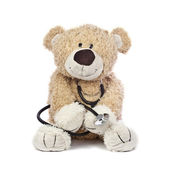 Doctor Teddy Bear — Stock Photo