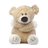 Treurig en eenzaam teddy bear — Stockfoto