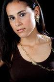 Güzel latin kız — Stok fotoğraf