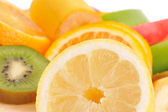 Set of different fruits — Stock Photo