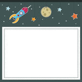 Space background — Stock Vector