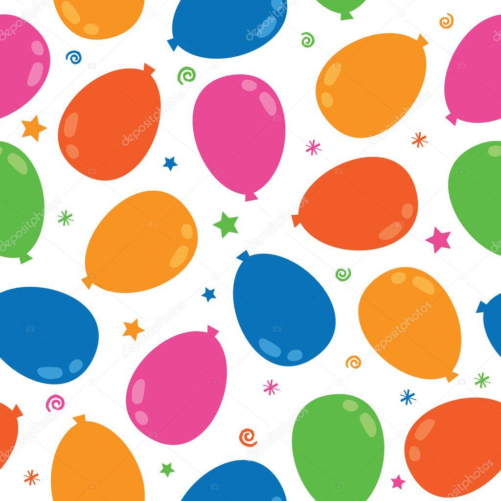 Balloon pattern — Stock Vector © mattasbestos #2901861