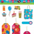 Party items — Stock Vector #3115811