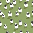 Royalty-Free Stock Vector Image: Seamless sheep