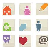 Web icons — Vecteur