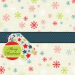 Royalty-Free Stock Vektorgrafik: Snowflake pattern