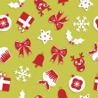 Seamless christmas pattern — Stock Vector #3912298