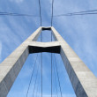 Stock Photo: Pylon bridge