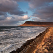 Coastline at sunset — Stock Photo #3798885