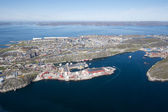 Nuuk city, Greenland — Stock Photo
