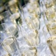 Stock Photo: Glasses with Champagne