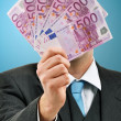 Stockfoto: Paying in cash