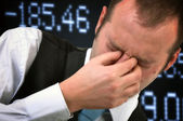Stocks Down — Stock Photo