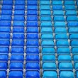 Stadium Seats - Stock Photo