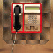 Stock Photo: Public phone