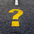 Royalty-Free Stock Photo: Question mark