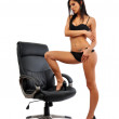 Sexy young woman posing — Stock Photo